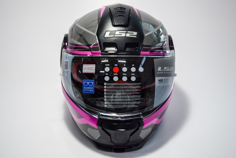 Casco LS2 FF902 Scope Axis Negro Rosa